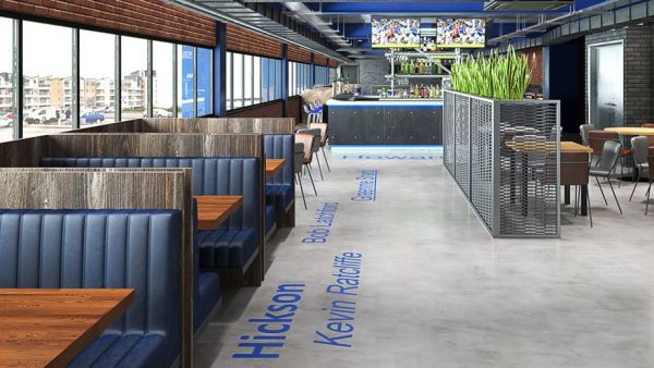 Peoples Club Lounge Everton FC