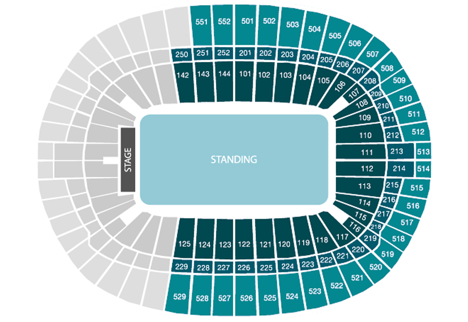 Wembley Stadion Club Wembley Seating Plan