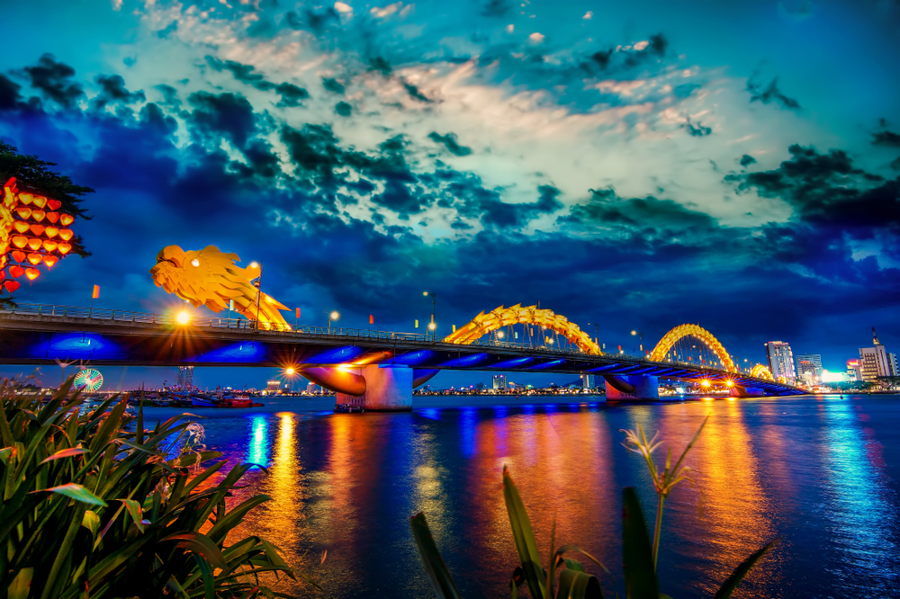 Vietnam Drachenbrücke Da Nang