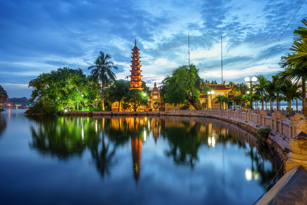 Vietnam Tempel