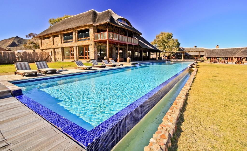 Südafrika - Aquila, Pool