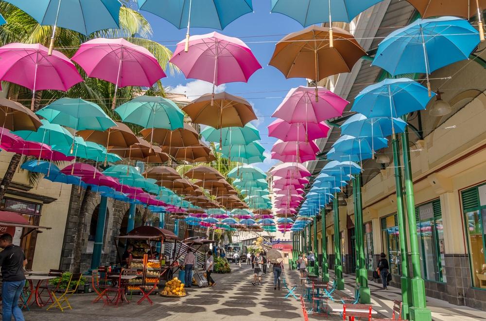 Mauritius - Innenstadt von Port Louis
