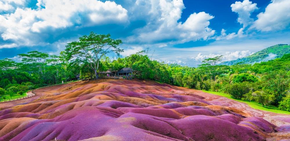 Mauritius - Siebenfarbige Erde