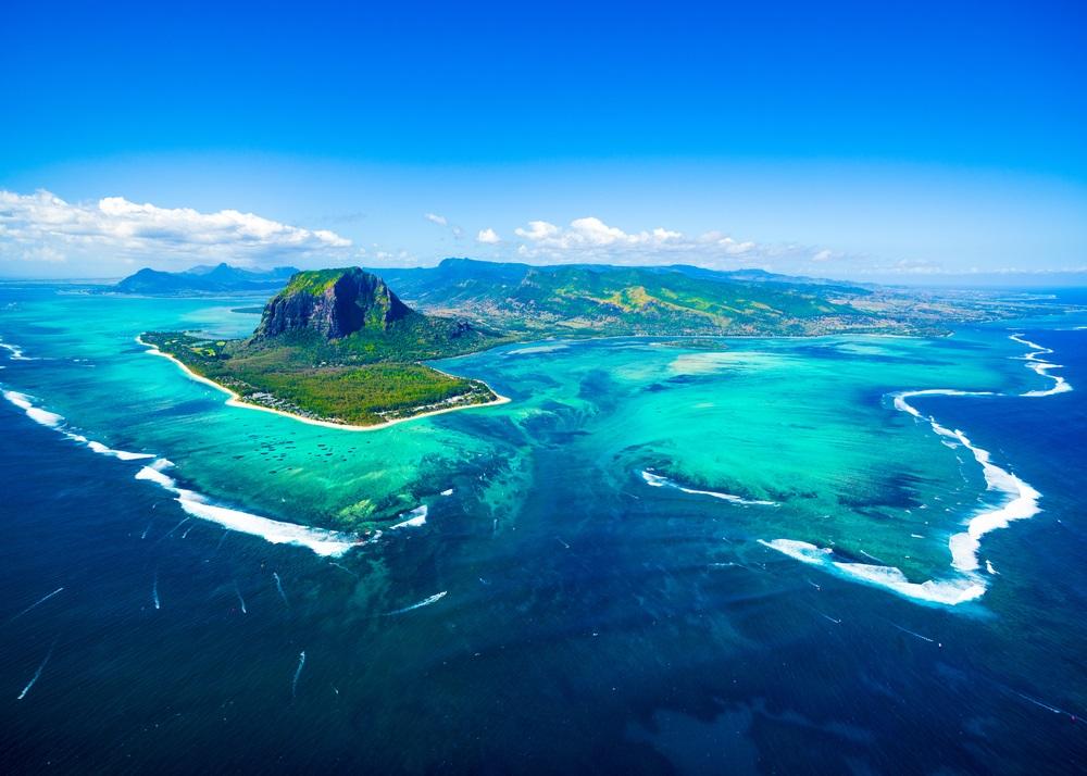 Mauritius - Mauritius von oben
