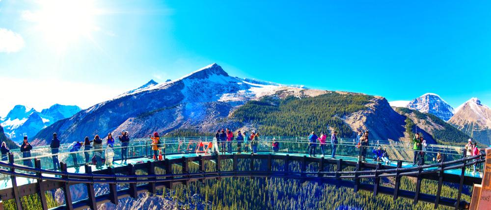 Glacier Skywalk Jasper | Alberta, Kanada