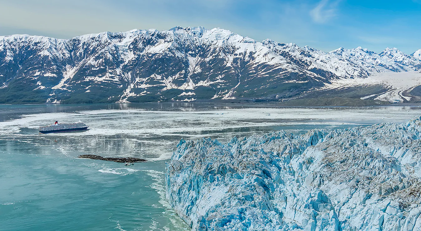 Hubbard Glacier | Alaska Kreuzfahrt Cunard