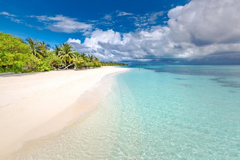 LUX* South Ari Atoll - Strandbereich
