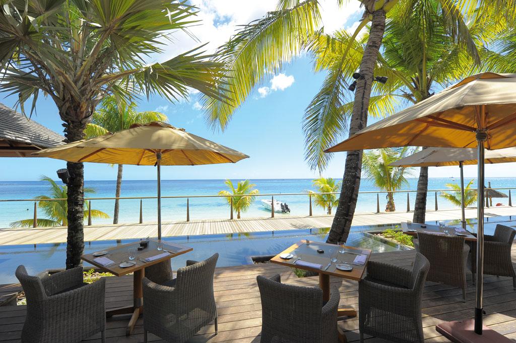 Beachcomber Trou aux Biches - Das Caravelle Restaurant am Strand