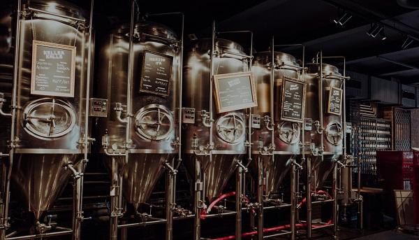 Astra Brauerei - Braukessel